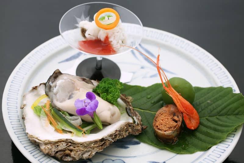 牡蠣 花むら